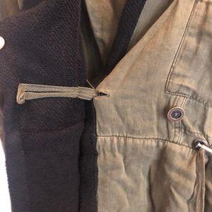 Free People Jackets & Coats - Free People Hooded Peplum Jacket